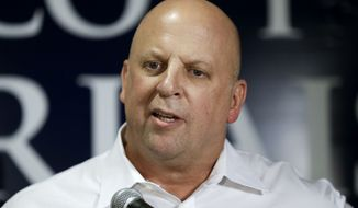 """In a statement, Rep. Scott DesJarlais of Tennessee said he was supporting Donald Trump for president and had already cast his vote early in his state's """"Super Tuesday"""" primary. (Associated Press)"""