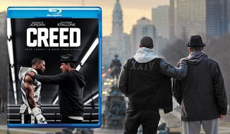 "Michael B. Jordan and Sylvester Stallone star in ""Creed,"" now available on Blu-ray from Warner Bros. Home Entertainment."