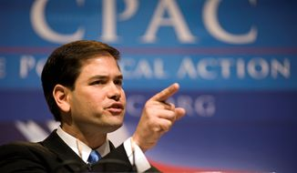 Addressing the annual Conservative Political Action Conference in 2010, Marco Rubio was seen as the Republican Party's response to President Obama. CPAC gives future candidates a chance to test their early messages on grass-roots conservatives. (Associated Press)