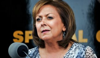 Gov. Susana Martinez of New Mexico became the latest Republican official to endorse the presidential bid of Marco Rubio, Fox News reported Thursday. (Associated Press)