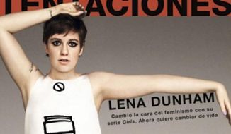 Actress and activist Lena Dunham has walked back criticism of a Spanish magazine after publicly, and falsely, accusing it of Photoshopping a front-cover image of her. (Instagram/@lenadunham)