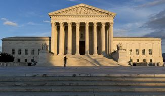 The Supreme Court is seen in Washington in this Feb. 17, 2016, file photo. (AP Photo/J. Scott Applewhite) ** FILE **