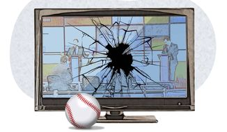Cheer up! Baseball season is almost here Illustration by Greg Groesch/The Washington Times