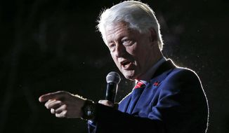 President Bill Clinton left the National Security Agency, the nation's electronic eavesdropper, in shambles at the very moment al Qaeda was in the final planning stages of carrying out the Sept. 11, 2001, attacks on New York City and the Pentagon. (Associated Press)