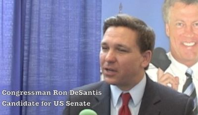 Congressman Ron DeSantis is running the US Senate seat vacated by Marco Rubio in Florida. DeSantis responds here to rumors that Dr. Ben Carson is interested in running for the same Senate seat.