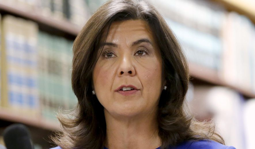 Cook County State's Attorney Anita Alvarez received half as many votes as her opponent in Tuesday's Democratic primary. She was criticized over the 13 months she waited to bring first-degree murder (or any other) charges against a Chicago police officer who fatally shot 17-year-old Laquan McDonald in 2014. (Associated Press/File)
