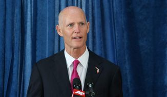 Florida Gov. Rick Scott (Associated Press) **FILE**