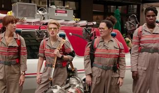 "Paul Feig, director of the all-female ""Ghostbusters"" remake, is defending Leslie Jones' role as a sassy MTA worker after critics called it racist and stereotypical. (YouTube/@Sony Pictures Entertainment)"