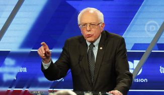 "Cuban-Americans in Miami were turned off by Democratic presidential candidate Bernard Sanders' call for a ""political revolution"" and praise for Cuban socialism. (Associated Press)"