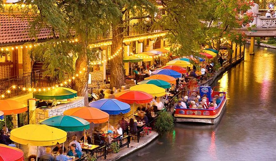 travel texas san antonio 39 s river walk beckons business