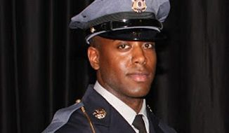 Officer Jacai Colson was a four-year veteran of the Prince George's County Police Department and worked undercover in the Narcotics Enforcement Division. (Prince George's County Police Department)