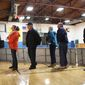 Turnout has surged for Republicans this year, with nearly every primary or caucus setting a record. Democrats, meanwhile, have seen their turnout tank compared with 2008, when Hillary Clinton faced off against Barack Obama. (Associated Press)