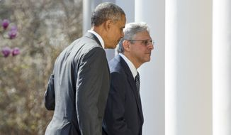 With the nomination of Merrick Garland likely to be President Obama's last for the Supreme Court, he's facing disappointment from his base that the nation's first black president has failed to place a black jurist on the court. (Associated Press)
