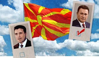 Upcoming Macedonian Election Illustration by Greg Groesch/The Washington Times
