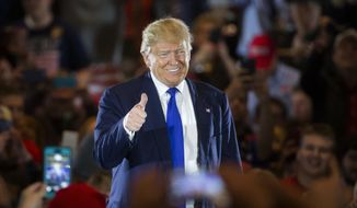Donald Trump insists he will win on a first ballot, but his two remaining rivals, Sen. Ted Cruz of Texas and Ohio Gov. John Kasich, are banking on being able to deny him an outright majority. (Associated Press) ** FILE **