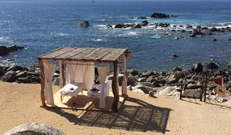 Enjoy the sun, waves and a massage at the at Hacienda Encantada.in Los Cabos, Mexico.
