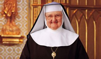 Mother Angelica became the face of Catholic media during the Pope John Paul era by founding Eternal Word Television Network and being its most prominent on-air personality. (EWTN)