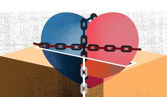 Emotional Decision Illustration by Linas Garsys/The Washington Times