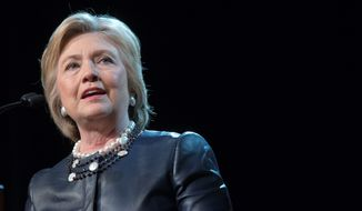Democratic presidential candidate Hillary Clinton hit the stump Wednesday, telling voters in her adopted home state of New York she is qualified to lead.