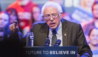 Washington voters may not get to feel the Bern. (Associated Press)