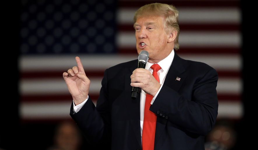Republican presidential candidate Donald Trump walked back his comments on abortion, which did not fall in line with the GOP. (Associated Press)