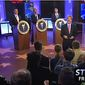 Fox Business Network prime-time host John Stossel moderates a Libertarian presidential forum for three hopefuls on Friday night at 9 p.m. (Fox Business Network)