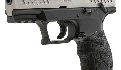Walther CCP (Concealed Carry Pistol) in 9mm Luger has an ideal combination of style, ergonomics, size, shape, accuracy, and ability to conceal comfortably. The new Walther SOFTCOIL gas-delayed blowback technology works to make the CCP an excellent concealed carry firearm