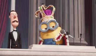 "Google used an image of a minion from Universal's ""Minions"" for its 'mic drop' April Fool's day prank. (Image: Universal)"