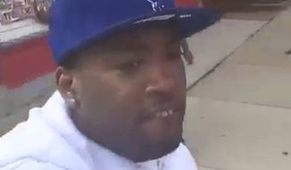 A Chicago man was brutally gunned down on a street corner Thursday while live-streaming video of himself on Facebook. (Facebook/@DeLorean)