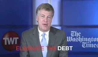 Tim Constantine says Donald Trump is making impossible promises on eliminating the debt.  Americans either don't know, or don't care.