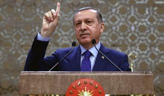 Some see Turkish President Recep Tayyip Erdogan using even the rumors of a military takeover as a way to consolidate his already growing powers and curb political dissent. (Associated Press)