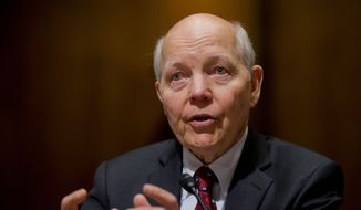Internal Revenue Service Commissioner John Koskinen insisted that his agency was secure even after a Government Accountability Office report pointed out holes in the IRS' cybersecurity. (Associated Press)