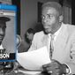 """The documentary """"Jackie Robinson,""""  now available on Blu-ray from PBS Distribution, focuses on the legends efforts on and off the field to fight segregation. (Robinson photo Associated Press)"""