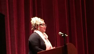 Kasi Lemmons at Ebertfest.  (Eric Althoff)