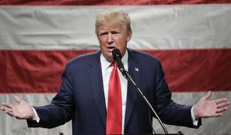 "On the heels of his disappointing finish in Colorado, Donald Trump last week said the Republican National Committee ""should be ashamed of themselves for allowing this kind of crap to happen."" (Associated Press)"