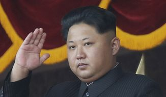 Kim Jong-un. (Associated Press)