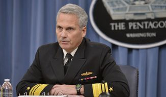 Vice Adm. James Syring told a House Armed Services subcommittee on strategic forces hearing that he lacks the funding to counter hypersonic missile threats but that money has been requested in the current defense authorization bill to deal with the threat. (Department of Defense)
