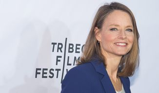 "Jodie Foster attends a special 40th anniversary screening of ""Taxi Driver"" during the 2016 Tribeca Film Festival at the Beacon Theatre on Thursday, April 21, 2016, in New York. (Photo by Charles Sykes/Invision/AP)"