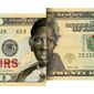 Illustration on the politicization of the currency by Alexander Hunter/The Washington Times