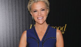 "In this April 6, 2016 file photo, Megyn Kelly attends The Hollywood Reporter's ""35 Most Powerful People in Media"" celebration in New York. (Photo by Andy Kropa/Invision/AP, File)"
