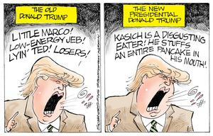 The old Donald Trump
