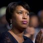 D.C. Mayor Muriel Bowser earlier this month committed herself to advocating for a ballot initiative on a constitutional convention for statehood, noting that the city's residents and businesses have paid $256 billion in federal taxes since 2002. (Associated Press)