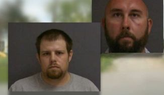 An Indiana burglar who broke into a man's garage has filed a lawsuit against the man for shooting him. Authorities said David A. Bailey, left, of Albany, broke into the detached garage of David McLaughlin, right, of Dunkirk, on April 21, 2014. (CBS4)