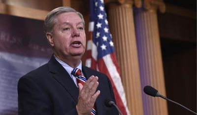 "South Carolina Sen. Lindsey Graham said the Campus Accountability and Safety Act is aimed at ensuring ""students and parents [have] a safe place to go to school where they will be fairly dealt with."""