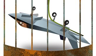 Lackind Combat Readiness Illustration by Linas Garsys/The Washington Times