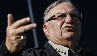 The decision is yet another victory for Maricopa County Sheriff Joe Arpaio and, more broadly, for Arizona, which has been a pioneer in trying to find ways to punish illegal immigrants, stepping into a void left by the Bush and Obama administrations. (Associated Press)