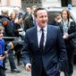 In this March 7, 2016, file photo, British Prime Minister David Cameron arrives for an EU summit at the EU Council building in Brussels. (AP Photo/Francois Walschaerts, File)