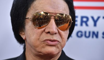 """Gene Simmons attends the LA premiere of """"Under The Gun"""" at Samuel Goldwyn Theater on Tuesday, May 3, 2016, in Beverly Hills, Calif. (Photo by Jordan Strauss/Invision/AP)"""