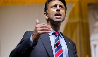 Former Louisiana Gov. Bobby Jindal (Associated Press) **FILE**
