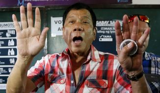 Rodrigo Duterte's campaign has been defined by his hard-line stances on everything from crime and trade to counterterrorism, punctuated by public comments that have confused and infuriated regional allies, experts and observers alike. (Associated Press)
